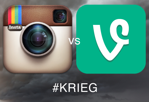 #Krieg – Vine vs. Instagram